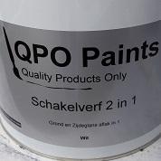 2,5ltr QPO Paints Schakelverf 2 in 1