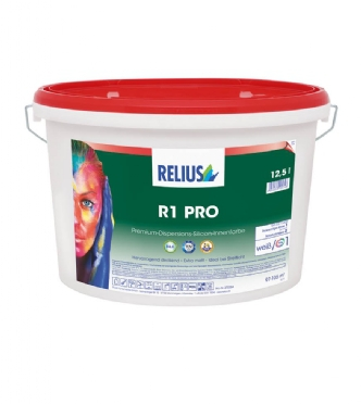 Relius Pro 1 Muurverf 3ltr lichte tinten