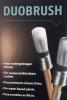 Duobrush voor terpentinegedragen lakken