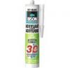 BISON Acrylaatkit 30 minuten wit 310 ml